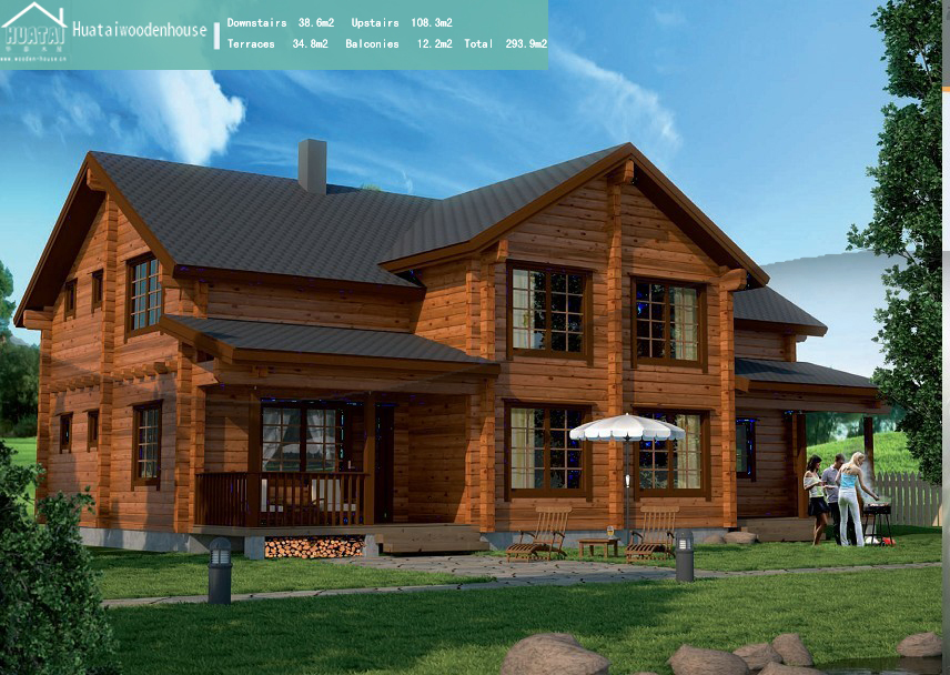 木屋别墅室内家具