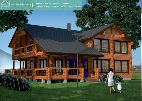 木屋别墅每平米价格